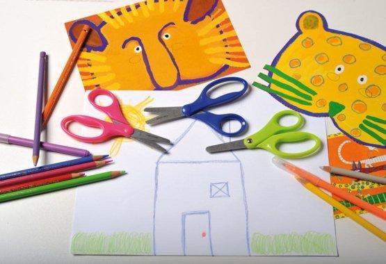 Ohutum viis õpetada lastele loomingulist lõikamist
