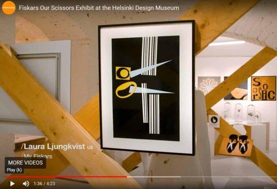 Meie käärid on väljapanekuga Helsinki Disainimuuseumis VIDEO