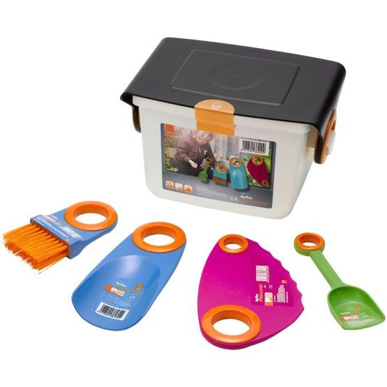 My First Fiskars® väikeste aiatööriistade kast